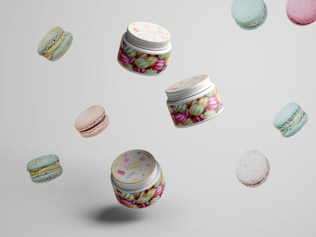 Cream Jar Mockups - Free Version